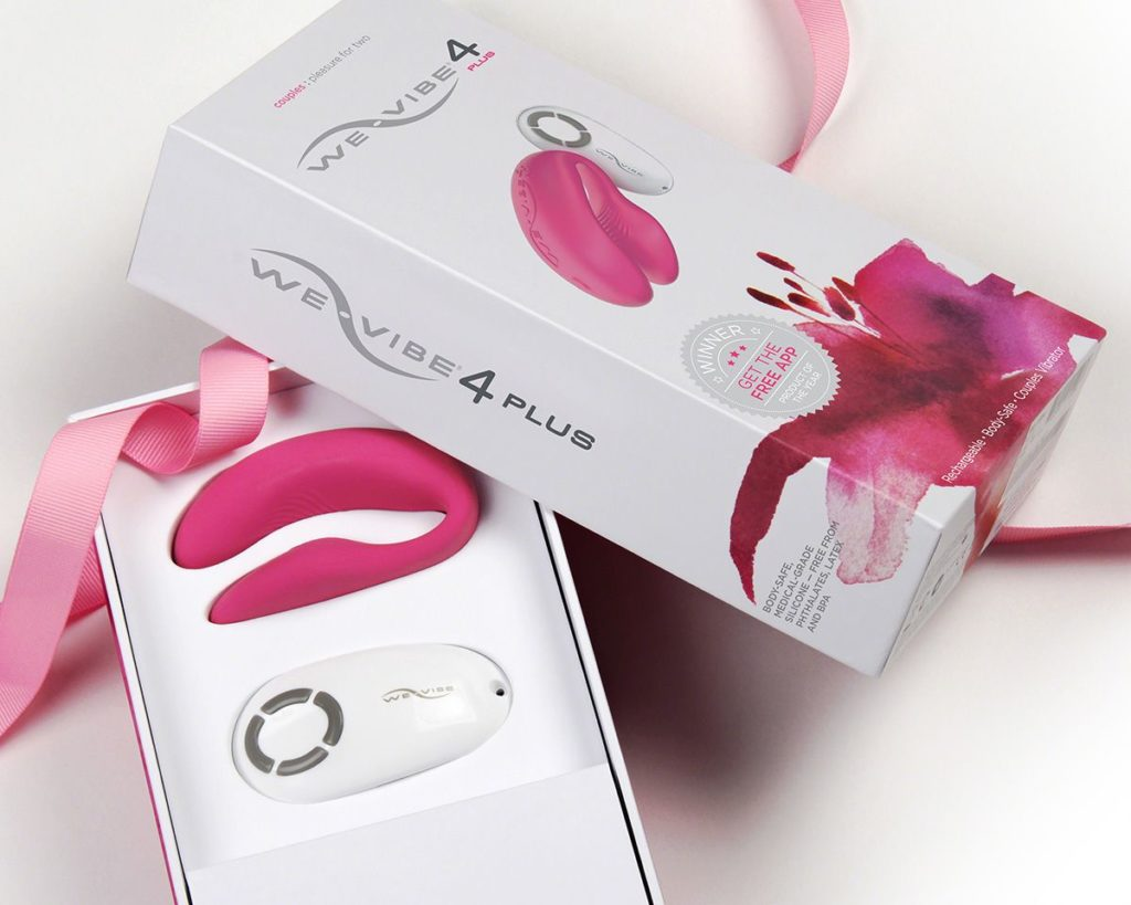 WeVibe Paarvibrator in hochwertiger Verpackung